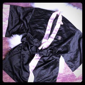 Victoria's Secret satiny back and pink short robe